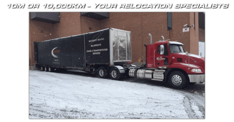10M OR 10,000KM – YOUR RELOCATION SPECIALISTS - truck 1