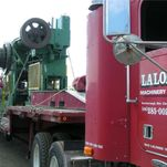 services LaLonde machinery delivery