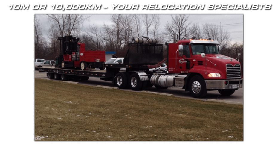 10M OR 10,000KM – YOUR RELOCATION SPECIALISTS - delivering equipment 2